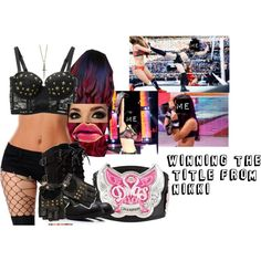 Winning The Title From Nikki by raine-wwe on Polyvore featuring Erica Anenberg and H
