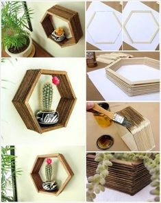 Popsicle Stick Crafts For Adults, Popsicle Stick Crafts For Kids, Diy Crafts For Adults, Easy Diy Crafts, Diy Home Crafts, Craft Stick Crafts, Kids Crafts, Kids Diy, Resin Crafts