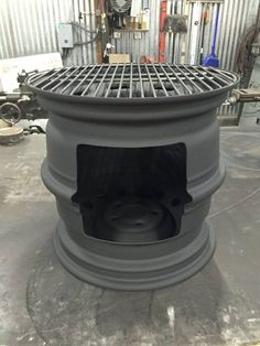Wheel Rim Fire Pit This Creative Fire Pit Can Be Used On