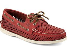 Sperry Top-Sider Authentic Original Perforated 2-Eye Boat Shoe