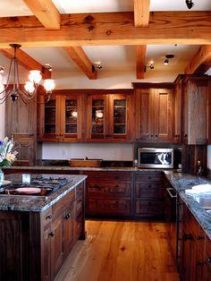 Custom Walnut Kitchen | by pioneermillworks