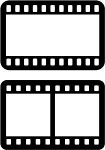 Silhouette Design Store - View Design # 27809: cartões de tira do filme