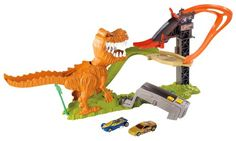 Hot Wheels T Rex Takedown Playset Car Race Track Mattel Ages New Toy Dinosaur Kids Store, Toy Store, Carros Hot Wheels, Mattel Shop, Lego, Toys R Us Canada, All Toys, Outdoor Fun, T Rex