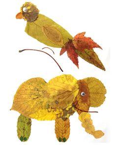 Herbst-Basteln: Willkommen zur Laubtier-Fütterung! - Schlau werden