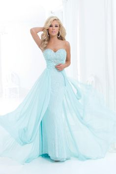2014+New+Style+Sweetheart+A+Line+Brush+Train+Chiffon&Lace+With+Beads+And+Ruffle