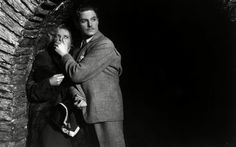 The 39 Steps (1935)   Hitchcock stepped it up here in every way, with a significantly larger budget than he'd yet enjoyed, even if much of it went to his two stars, Robert Donat and Madeleine Carroll. The influence of Capra's Oscar–winning It Happened One Night (1934) is hard to miss in the leads' bickering relationship as they're thrust together in a journey across the Highlands.