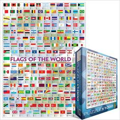 Mix svet: Vlajky štátov Flags Of The World, Periodic Table, Puzzle, Diagram, World Flags, Periodic Table Chart, Puzzles, Periotic Table, Puzzle Games