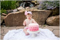 First Birthday Pearl Cake Smash Pearl Cake, 1st Birthday Cake Smash, First Birthdays, Photography, Home, Photo Reference, Pictures, One Year Birthday, Photograph