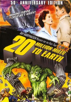 20 million miles to earth - movie - 20 milhões de milhas da terra - filme - Ray Harryhousen