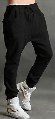 New Hot Mens Casual Harem Baggy Hip Hop Dance Sport Sweat Pants Slacks Trousers