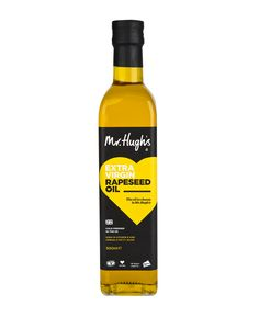 Mr Hugh's Extra Virgin Cold Pressed Rapeseed Oil