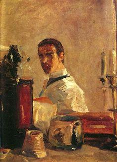 Henri de Toulouse-Lautrec - Self Portrait