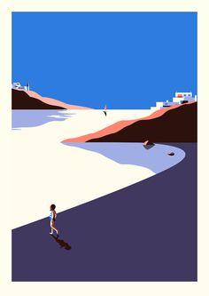 (via #ONTHEDRAW | Fuerteventura by Malika Favre)