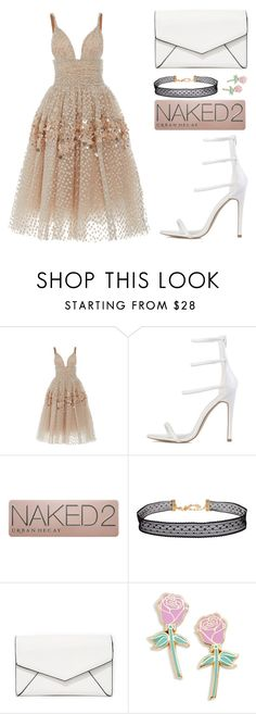 """Untitled #2157"" by danielasilva12 ❤ liked on Polyvore featuring Carolina Herrera, Urban Decay, Humble Chic, LULUS and Big Bud Press"