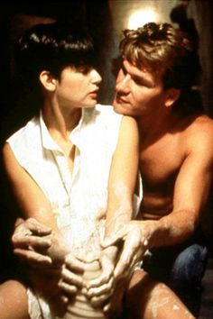 "Ghost. one of the best romantic/ghost/dramatic/patrick swayze films. i cry every time he says ""see ya"" walking away."