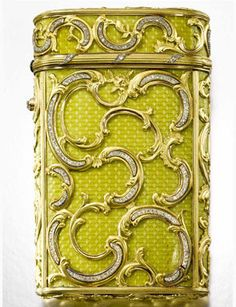 A Fabergé jewelled gold and enamel cigarette case, Workmaster Michael Perchin, St Petersburg, 1899-1903.