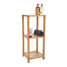 Howards Storage World | 3 Tier Bamboo Shelf