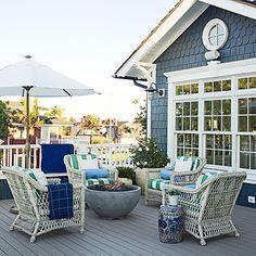 Sunny Retreat - 50 Beachy Porches and Patios - Coastal Living