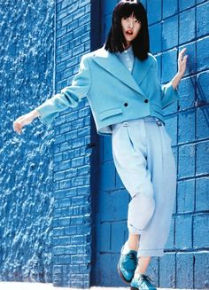 Monochromatic chic via Vogue China