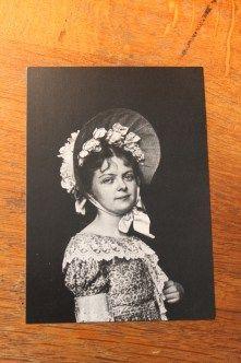 Emily Mew, fotografiert von Belle Starr (1848-1889) aus Carthage, Missouri
