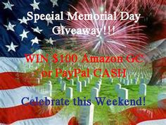 $100 Amazon Gift Card or PayPal CASH 24-Hour FLASH Giveaway!!!