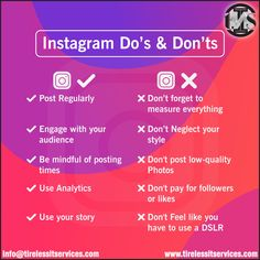 Here are 5 Instagram do's and don'ts for business.  #Instagram #Tips #BusinessGrowth #socialmediamarketing #marketingonline #BusinessStrategy #contentmarketing #brandidentity #DigitalMarketing