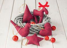 #niezchinzpasji 4th Of July Wreath, Advent, Christmas Ornaments, Christmas Ideas, Wreaths, Sewing, Holiday Decor, Diy, Handmade