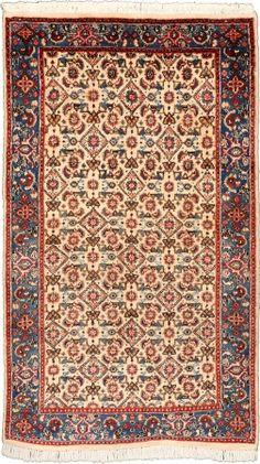 """Moud Salmon Allover Carpet CS-M924786159 X 91 Cm. (5'3"""" X 3' Ft.) - Carpetsanta"""