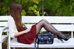 School girl (by Ariadna Majewska) Fashionmylegs- Daily fashion from around the web Submit Look Note: To submit outfits please use the website not the Tumblr app.