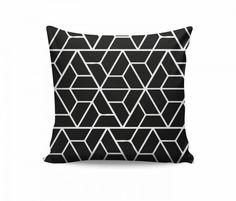 Almofada Geométrica - Triângulos em recortes DA8962