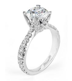 Capri Jewelers Arizona ~ www.caprijewelersaz.com Michael M. Engagement Ring style R435