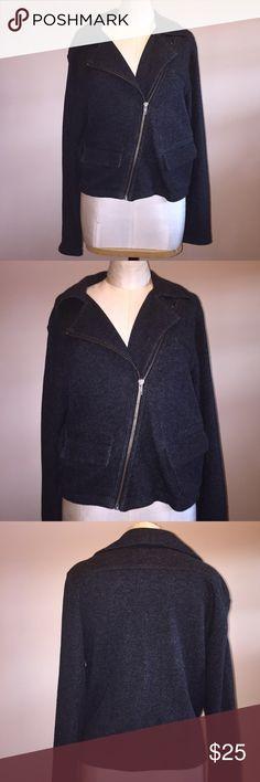 CAbi Style 775 Moto Indie Jacket Gray Medium CAbi Style# 775 Moto Indie Jacket Chalkboard Gray Size Medium Lightweight. 100% cotton. Super cute and stylish. CAbi Jackets & Coats