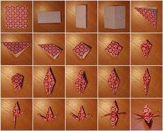 How to make a paper crane by scotproof, via Flickr