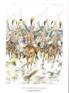 """3rd regiment of the Honour Guard, Imperial Guard """