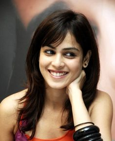 Another chulbuli,chirpy,cutie - Genelia D souza. They are never afraid to show their teeth.Their smile reaches the eyes. They are always in wonder world. Genelia D'souza, Indian Heroine, And God Created Woman, Lovely Smile, Happy Smile, Actress Wallpaper, Beautiful Goddess, Exotic Women, Most Beautiful Indian Actress