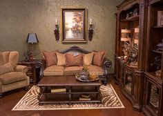 Tuscan Style Living Room Furniture Tables Sofas