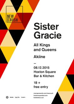 Akiine @ Hoxton Square Bar & Kitchen on 8th December 2015 w/ Sister Gracie  www.electricharmonymusic.com/akiine
