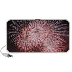 fireworks travelling speaker