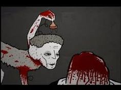 dog of man. Dog Of Man, David Firth, Lets Get Weird, Drawing Reference, Creepy, Art Projects, Horror, Animation, Cartoon