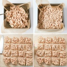 Popcorn bars are crazy easy to make.