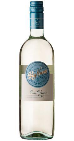 Via Nova new wine label design