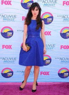 Zooey Deschanel Dress Style