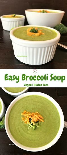 Welcome to Simple Sumptuous Cooking, a vegan cooking blog! Here's a quick recipe for Easy Broccoli Soup.
