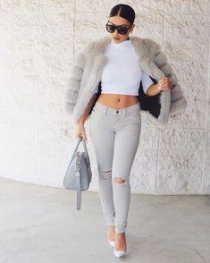#GreySeries is back  Top @riverisland Jeans @hotmiamistyles Coat @azurradubai Bag @givenchyofficial Shoes @gianvitorossi