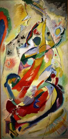 'Panel for Edwin R. Campbell No. 1' (1914) by Vasily Kandinsky