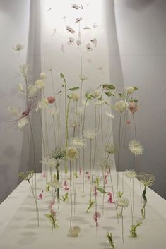 Something quite interesting...Delicate Fabric Sculptures by Laurence Aguerre.