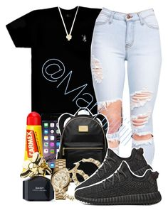 Yeezy by trill-forlife ❤ liked on Polyvore featuring Octobers Very Own, Carmex, MICHAEL Michael Kors, Marc Jacobs, Michael Kors and Joolz by Martha Calvo