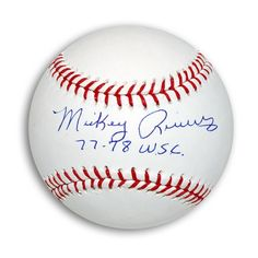 "New York Yankees - Mickey Rivers Autographed MLB Baseball Inscribed ""77-78 WSC"", $62.95 (http://www.aaasportsmemorabilia.com/mlb/new-york-yankees/mickey-rivers-autographed-mlb-baseball-inscribed-77-78-wsc/)"