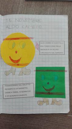 Classe Prima: Matematica- Novembre- Le forme geometriche - Maestra Anita
