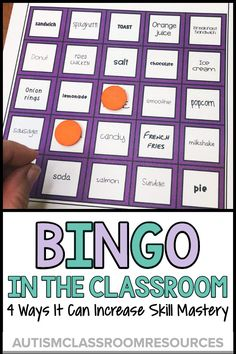 Most of our students in life skills classes don't learn effectively by just being presented with skills one way, one day. They need to practice skills in a variety of ways in order to maintain them, as well as to generalize them to real-life situations. One way to do that is with BINGO activities built around the skills you are teaching. Find out 4 ways you can use BINGO to engage and expand your students' learning. #lifeskills #bingo #sightwords via @drchrisreeve